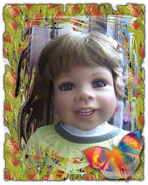 Коллекционная кукла от Moniki Levenig