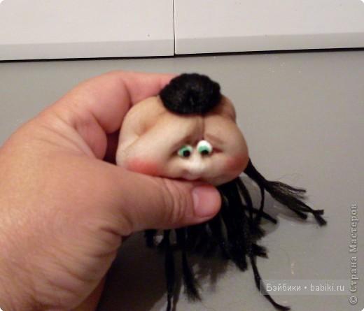 465Как сделать руки для капроновых кукол из колготок