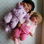Комплекты на кукол 21см