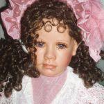 Фарфоровая кукла Даллас от Lucy Daale