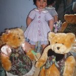 Коллекционная фарфоровая кукла Имани от Кэлли Руберт