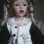 Фарфоровая кукла. Редкость.Распродажа.