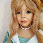 Редкая и красивая кукла  Saskia от Joke Grobben.