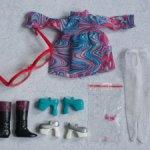 Остатки оригинальных вещей для Блайз  одним лотом - платье, обувь, очки.