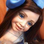 Синяя Птица Счастья… или фарфоровая кукла от автора Розы Марии Стридом