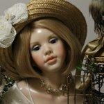 Айвори, Ivory - девушка цвета слоновой кости или кукла от автора Сюзан Крей, Susan Krey