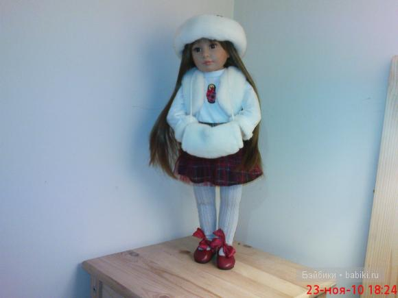 Лена в костюме от куклы Гётц.