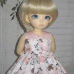 """Платье """"Бычок и любовь"""" для Littlefee и кукол размера YO-SD"""