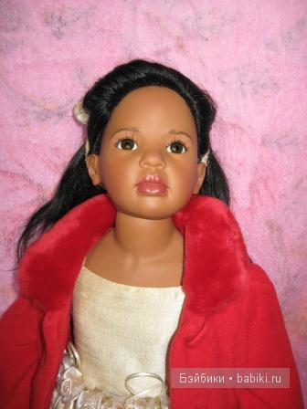 Коллекционная кукла от Хильдегард Гюнцель Марита