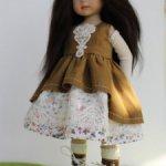 Наряд  для кукол студии Дианны Эффнер