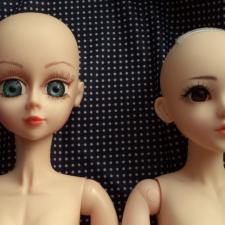 Куклы Звезды подиума. Технический топик: сравнение тел кукол ЗП 60 см 1-го и 10-го молдов