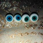 Продам стеклянные глаза для кукол Бжд и подобных. Разные размеры.