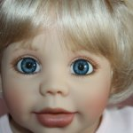 Срочно! 10500 руб. с доставкой!!!Очаровательная коллекционная куколка Сиси от Gerlinde Feser