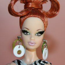 Цена ниже! Яркая и редкая кукла Barbie Pop life 2009 Redhead. Стильная и модная дева