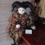 Будуарная Кукла Арлекино