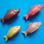 Целлулоидные рыбки 1950-х гг.Цена за всех.