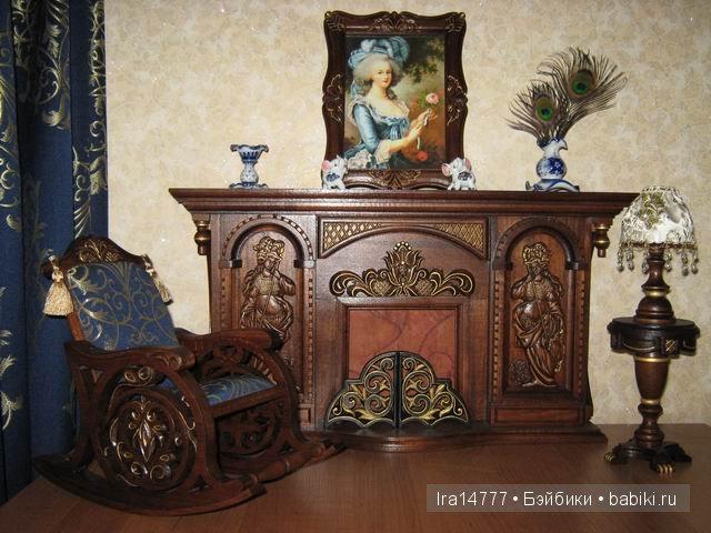 Irina & Sergey,эксклюзивная кукольная мебель