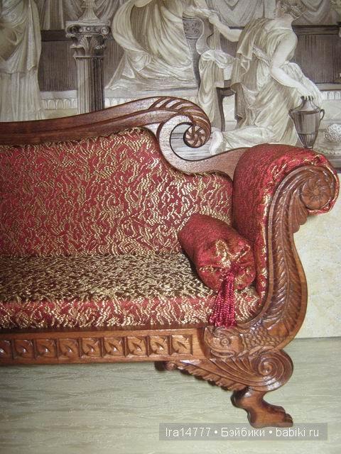 Эксклюзивная кукольная мебель