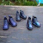 Кожаные ботинки для Паолок