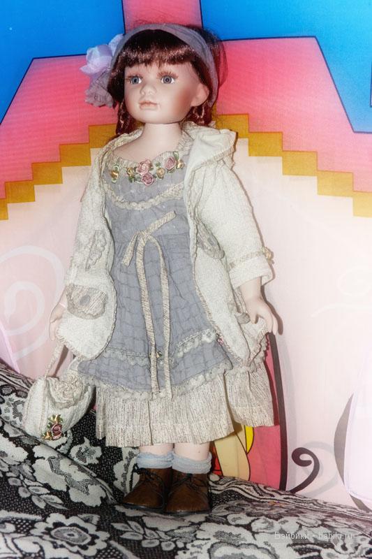 Моё голубоглазое чудо. Фарфоровая кукла Ханна!