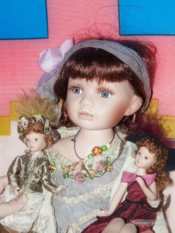 Моё голубоглазое чудо. Фарфоровая кукла Ханна