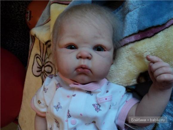 Кукла реборн Пэрис - Одуванчик