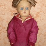 Антикварная кукла Дунаевский паренек