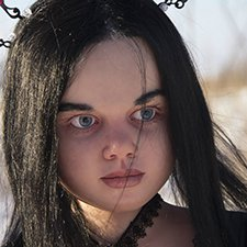 Готичная Габриэль. Gothic girl Mahafsoun