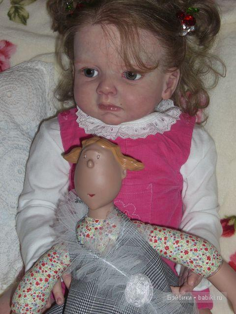 Кукла реборн Антуанетта - любимая девочка от Елены Киприяновой