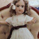 Кудряшка Сью, антикварная кукла Jumeau 1907 (30) 76 см.