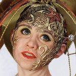 Хохлома - новая авторская кукла Наталии Зотовой