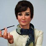 Одри - новая авторская кукла Наталии Зотовой