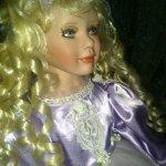 Фарфоровая кукла Сабрина  -  автор Pat Dezinski