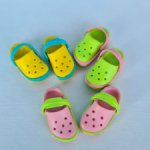 Продаю пластиковые кроксы для кукол Холала (holala)