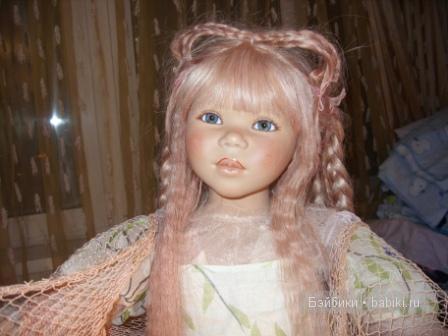 Коллекционная кукла Ла Мэй от Анетт Химстадт