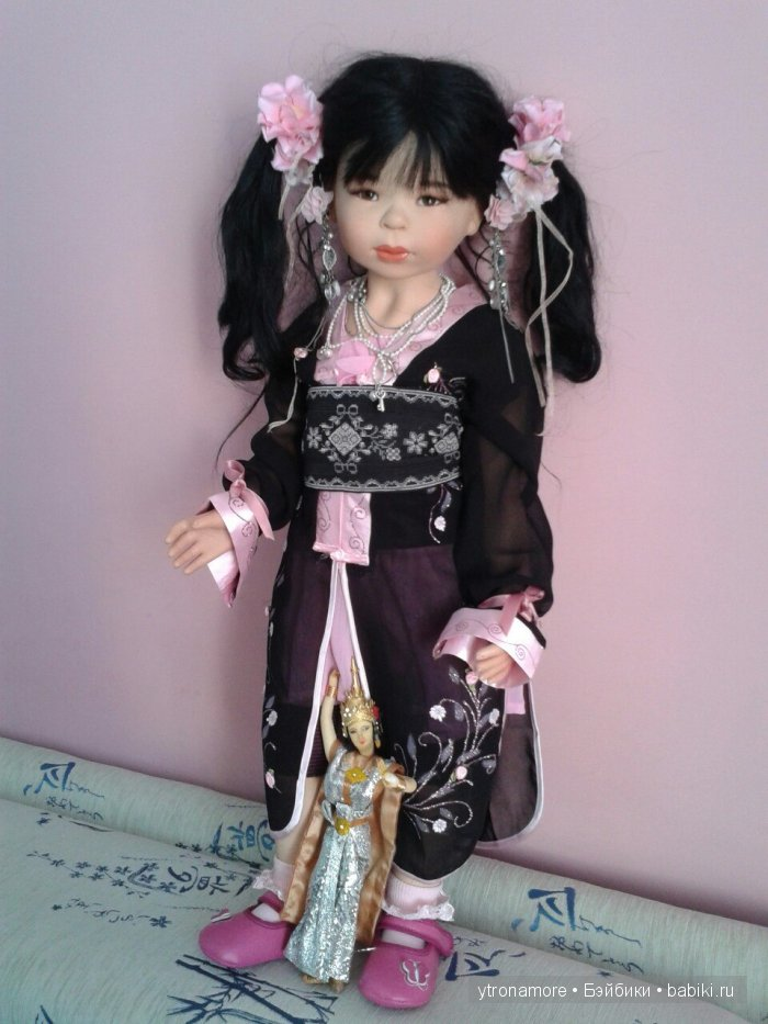 авторская кукла от Майи Билл. Maja Bill, Musa
