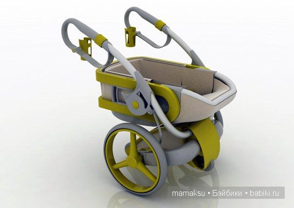 Необычная коляска!