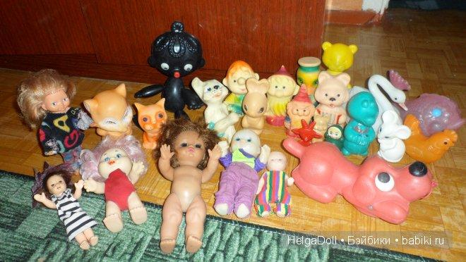 мягкие игрушки 80-х годов