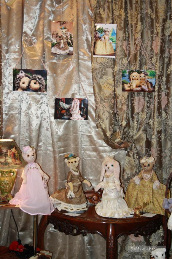 Время кукол №8 СПб, Выставка кукол