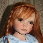 Lizzi - моя кукла от Rose Marie Strydom