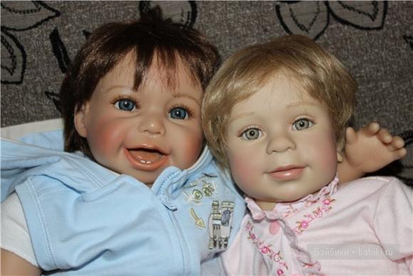 коллекционные куклы ханс и молли