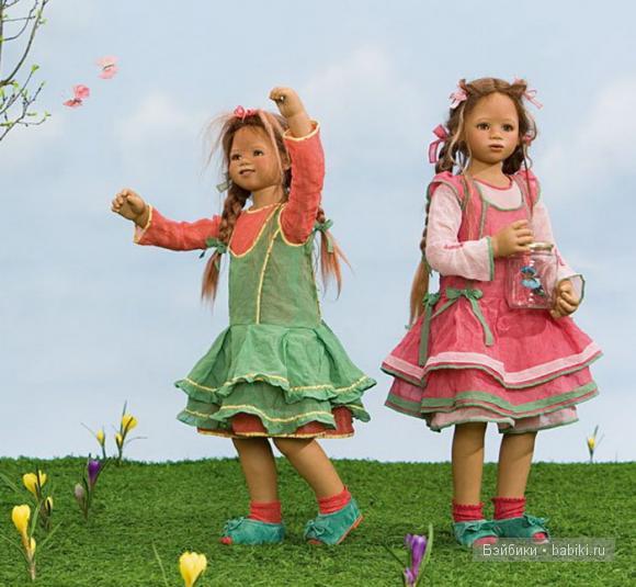 Коллекционная кукла Bellis от Annette Himstedt, 2008