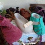 Оригинальная обувь ,немного одежды и носочки от Annette Himstedt.