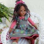Грустиночка малышка Leleti от Annette Himstedt. Полная копия большой.Рост 30см.