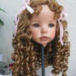 Парики для кукол -девочек и мальчиков, от 5 до 18 размеров.Новые модели.Есть на антикварок