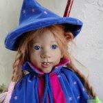 Очень редкая Пинки Пли Маленькая ведьма от Annette Himstedt.Рассрочка!