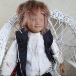 Озорной Намор мини кукла от Annette Himstedt