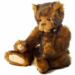 Серьезный Edwin teddy bear от Charlie Bears.2013 год.