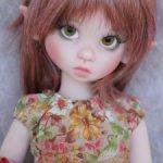 Розовая Pink Gracie elf от Kaye Wiggs. Новая. Редкая