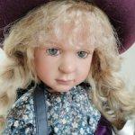 Ученица 1а класса Geraldine  от Ruth Treffeisen. Очень редкая кукла.1998 год.Студийная.Рассрочка!